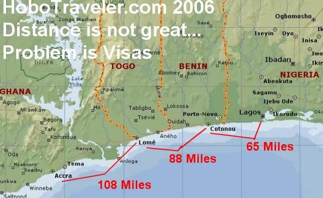 Lome Togo Flight Map Accra Lome Cotonou Lagos Niger Ivory Coast