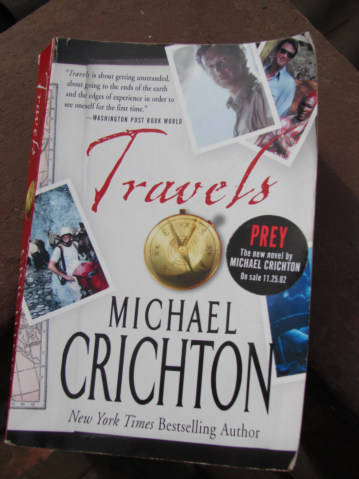 Michael Crichton signature - Browsers' Bookstore