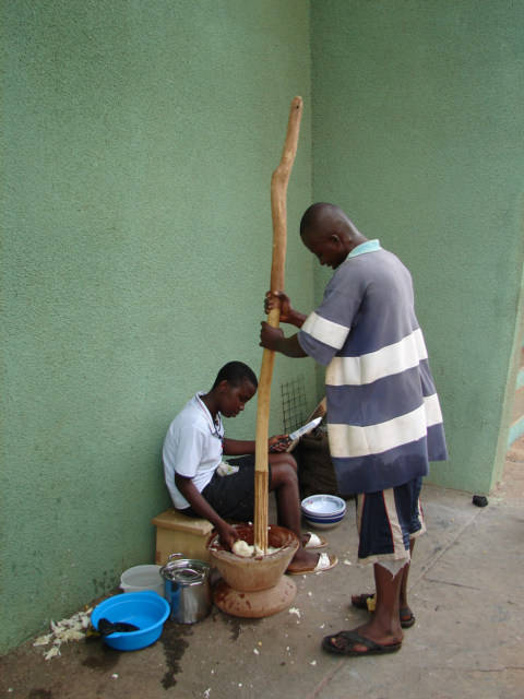 how to make fufu at home