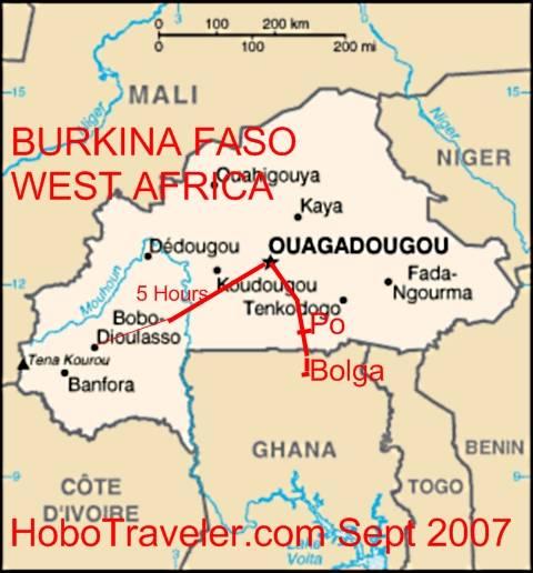 Bobo Dioulasso Burkina Faso Burkina Faso Map Burkina Faso