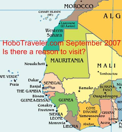 Gambling On Countries In West Africa - Map Why Go Africa, Mali