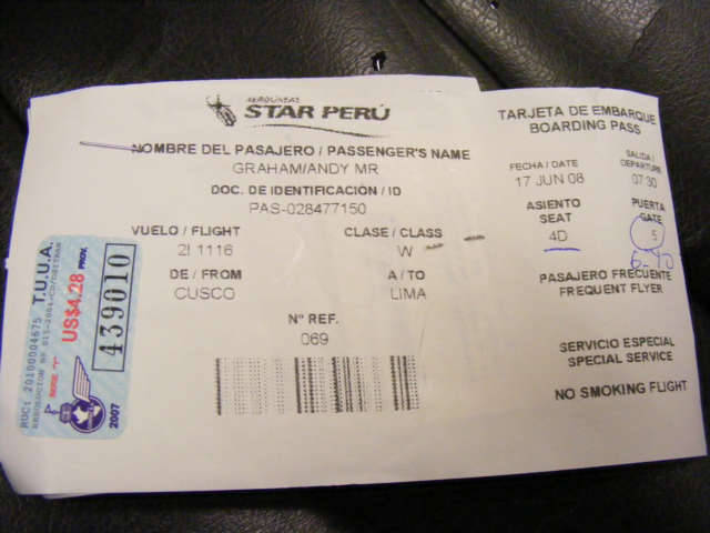 The New Size Of Boarding Pass