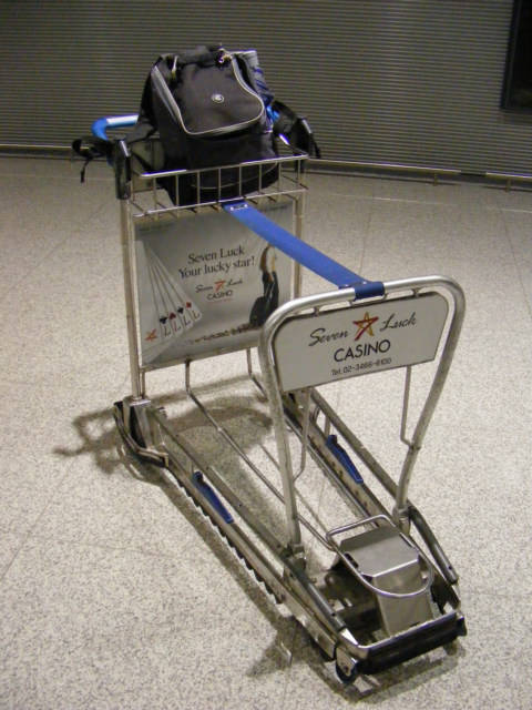 Worlds Best Airport Baggage Cart