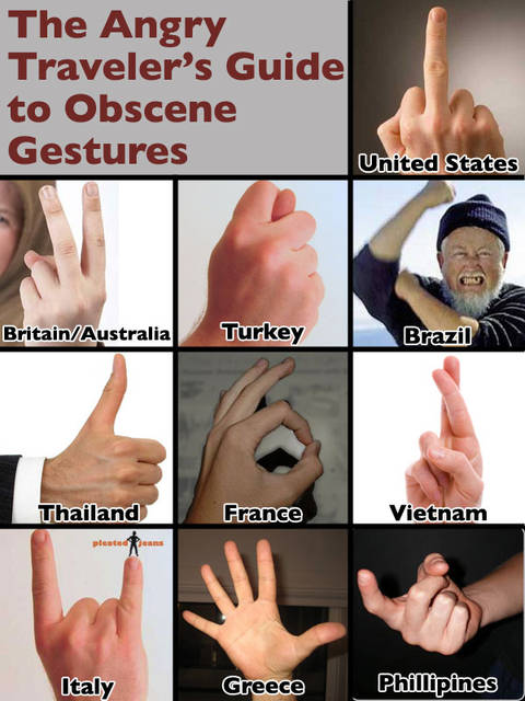 Obscene Gestures Of The World - Body Language