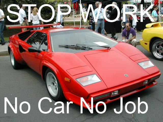 I Do Not Own a Car and There is No Reason to Work Hard title=