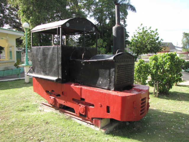Montellano Central Park Train Engine