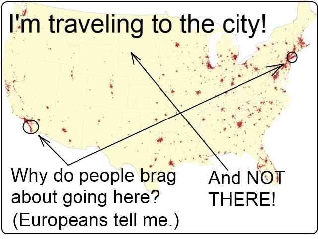 Major Urban Areas Map