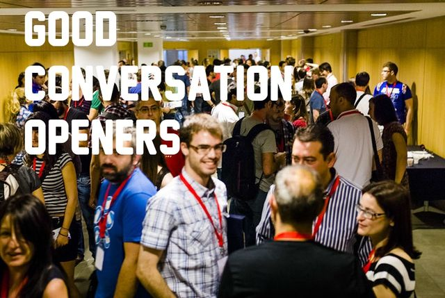To live the good life, we need to know good conversation starters. title=