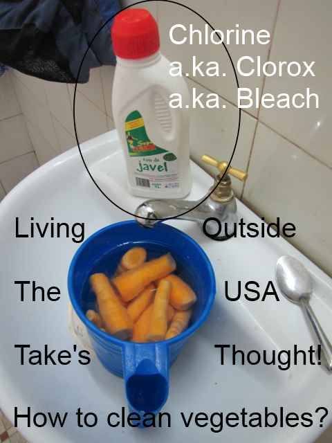 Chlorine Vegetables
