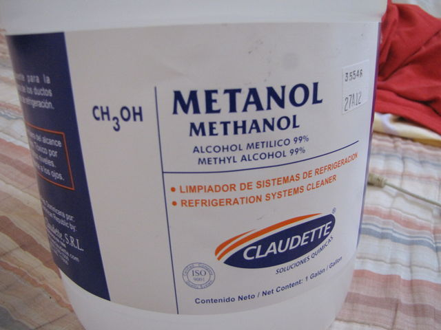 Methanol for Cooking Stoves