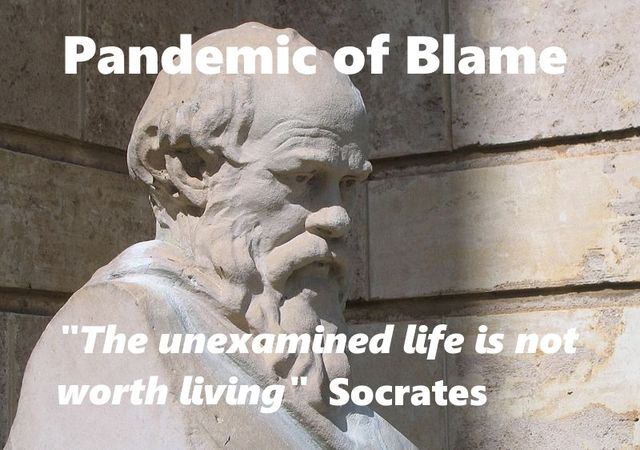 """the unexamined life is not worth living""