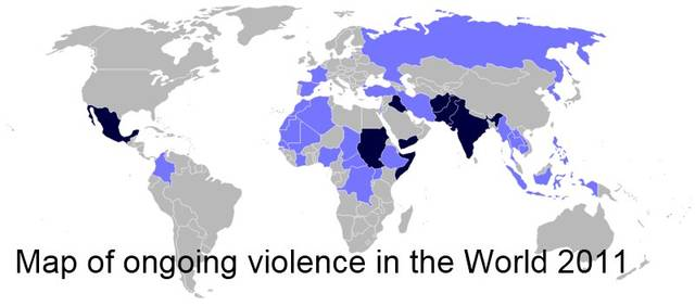 10 Most Dangerous Countries Of 2011 By Andy Graham