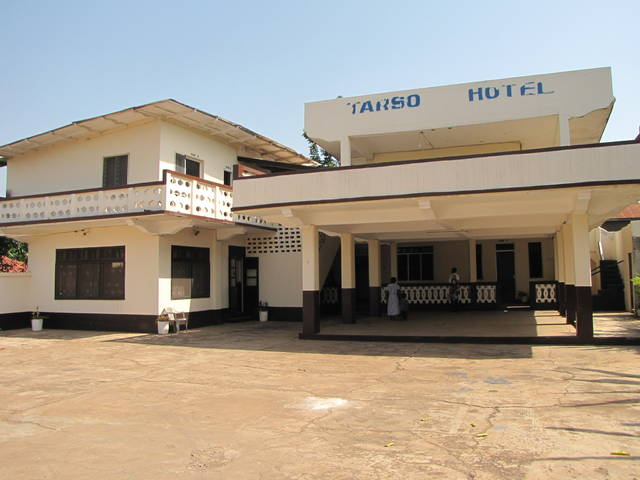 Tarso Hotel in Ho Ghana Electricity was cut because they need to buy another unit title=