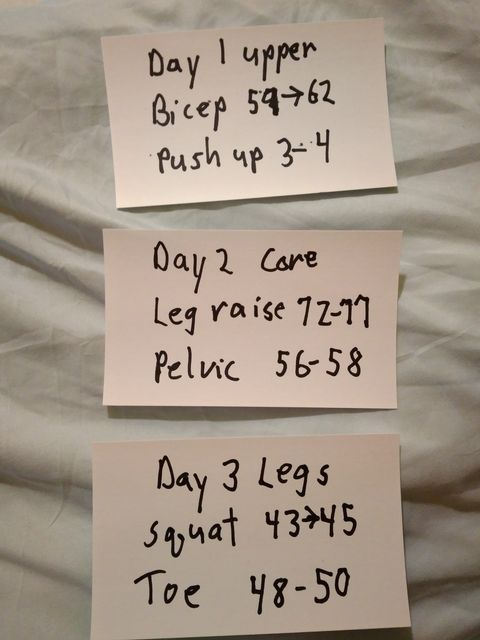 Workout Routine 2nd cycle. title=