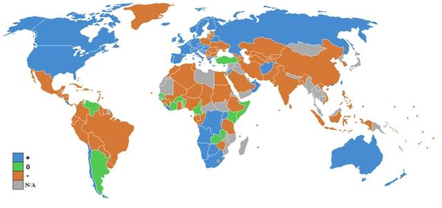 Retire Abroad Map