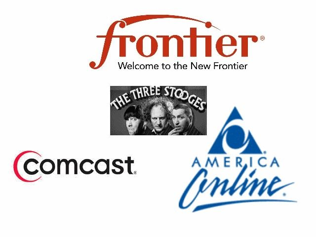 AOL Comcast Frontier email