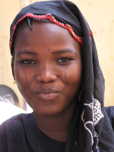 Natitingou Girl in Benin