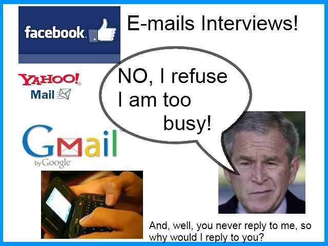 Email contempt