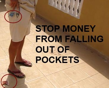 Anti Theft Pants Solves Problem of Money Falling Out title=