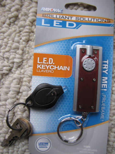 Keychain Flash Light