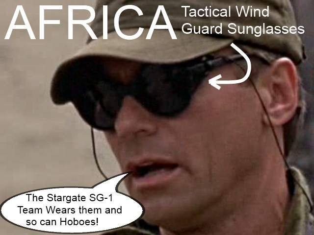 Tactical Wind Guard Sunglasses