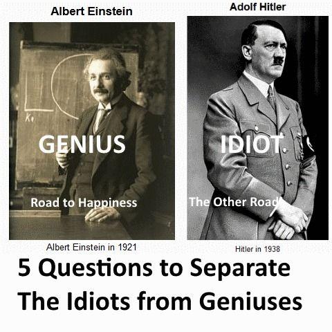 Hitler Einstein