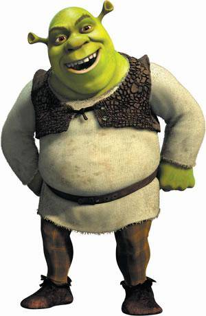 Happy Shrek