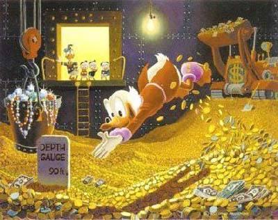 Scrooge duck