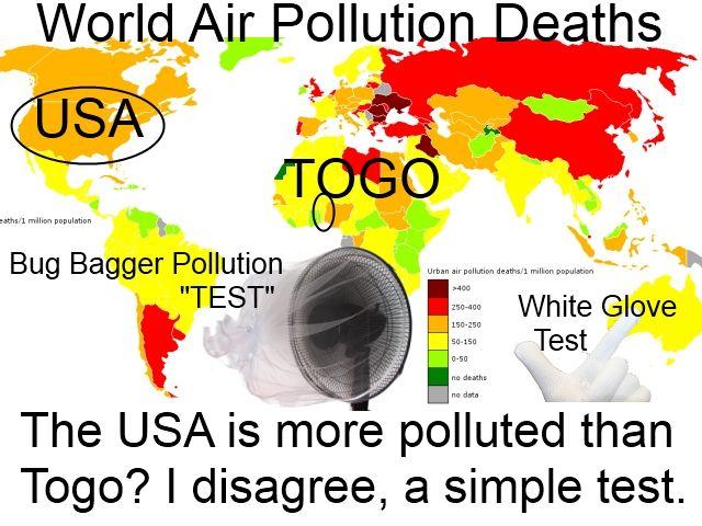 USA Air Pollution Test