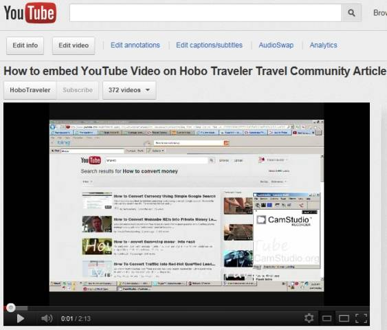 How to Embed a YouTube Video into an Article Written by You