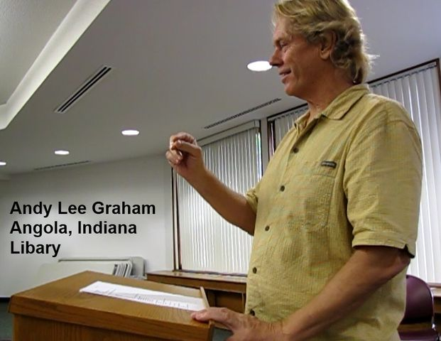 Andy Lee Graham at Angola Indiana Library