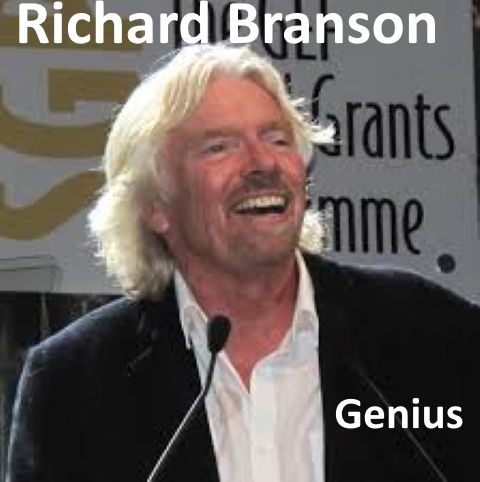 Richard Branson is Genius