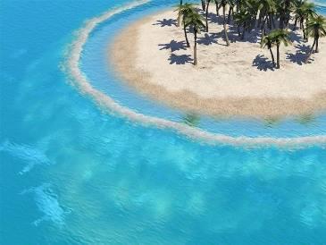 Deserted Tropica Island