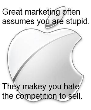 Apple sells stupid