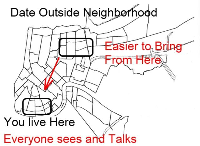 Dating Girls Outside Of Neighborhood