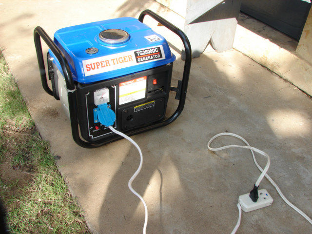 Generator in Togo for 85 dollars