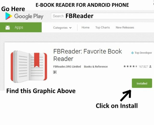 list of free ebook reader apps for smartphone android iphone etc