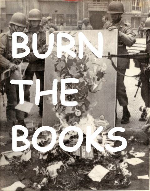 burn the books