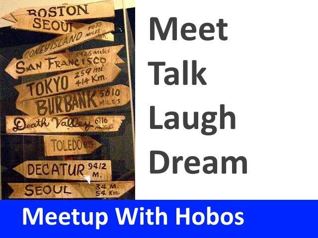 Hobo Traveler Meet Ups Andy Lee Graham