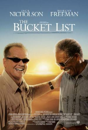 The Bucket List as listed as one of the best travel movies.