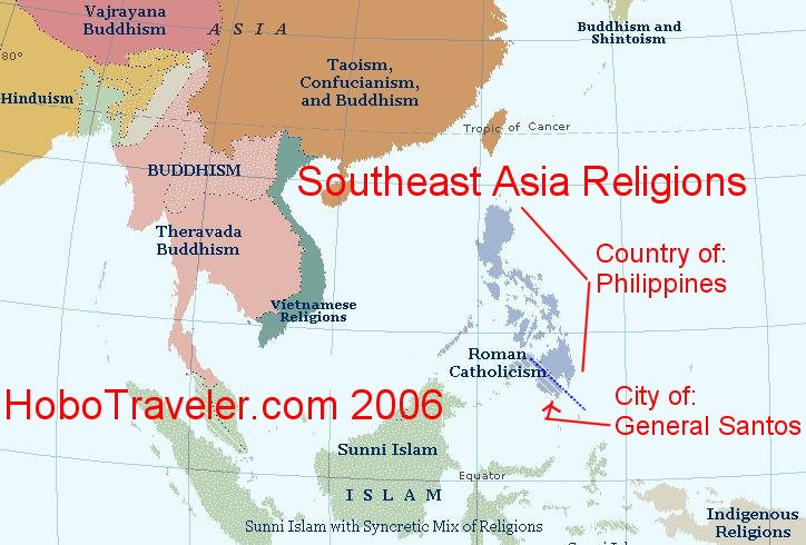 Religion Map Of South Asia.Map Of South Asia