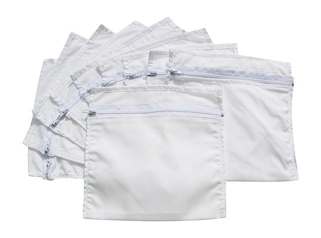HoboTraveler.com Zipper Secret Pockets for Money Ready to Sew into Clothing (10 Pack)