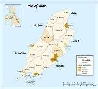 Isle of Man local authorities and sheadings