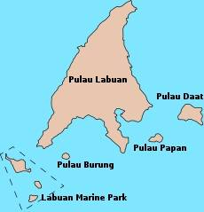 Labuan Island and outlying islands
