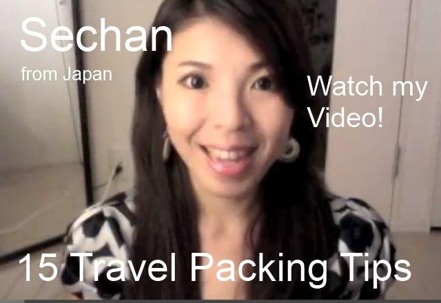 packing suitcase by sechan