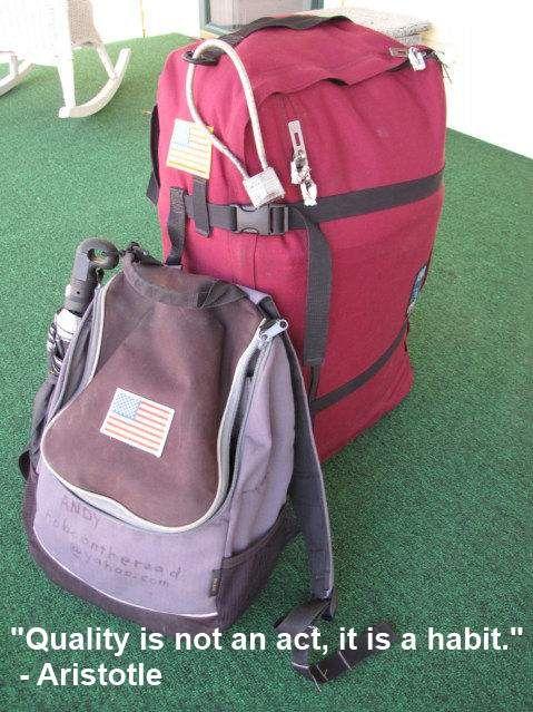 Never Return Bag