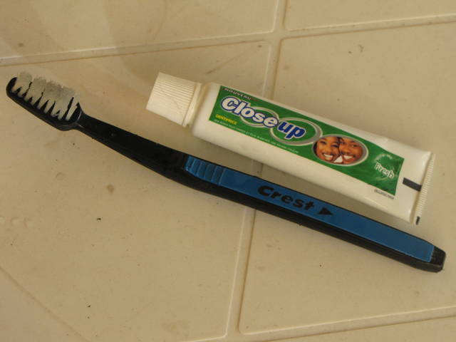 Travel Toothpaste Size