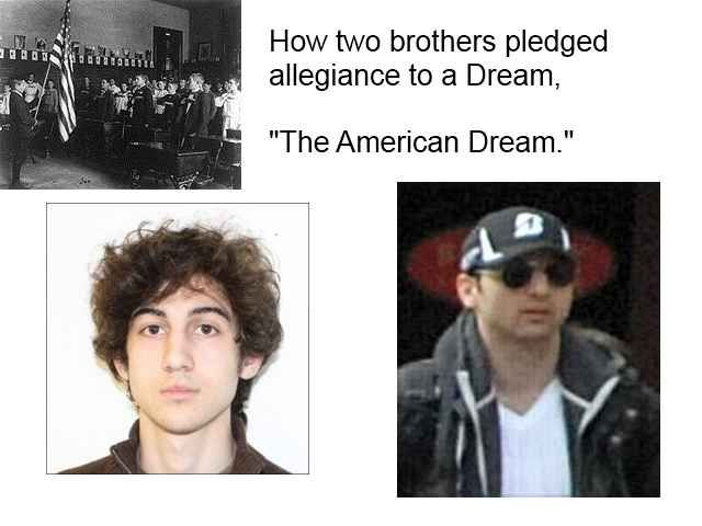 American dream and terrorism