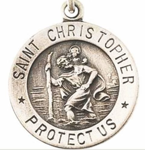 St Christopher The Patron Saint of Travelers