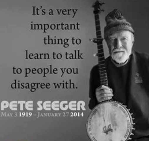 Talk With People We Disagree